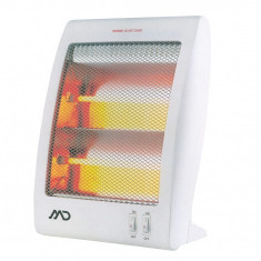 Radiator electric MD MHT-6602, 400/800 W, doua trepte de incalzire, Alb, 01693