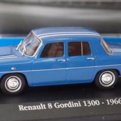 Macheta RENAULT 8 Gordini (Dacia 1100) - Atlas 1:43 - Macheta auto