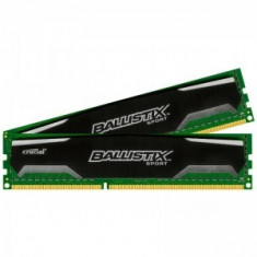 Memorie Crucial Ballistix Sport 16GB DDR3 1600MHz CL9 Dual Channel Kit 1.5v - Memorie RAM