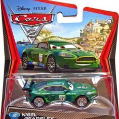 Disney Cars 2 - Nigel Gearsley - Masinuta electrica copii Mattel