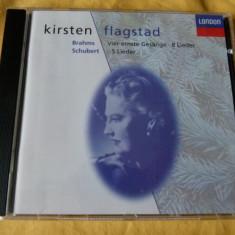 Brahms, Schubert - flagstad - Muzica Clasica decca classics, CD