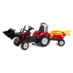 Tractor cu Remorca Ranch Trac Rosu Falk