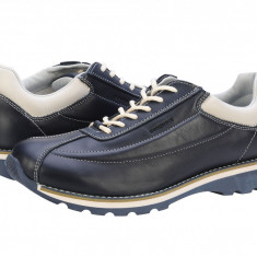 Pantofi casual barbati piele Bit Bontimes Welt albastru B635PVBLU - Pantof barbat Bit Bontimes, Marime: 44