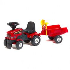 Tractoras Baby Farm Mustang cu Remorca Falk