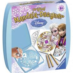 Set De Creatie Mini Mandala Frozen - Jocuri arta si creatie Ravensburger