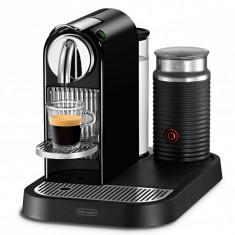 Espressor cu capsule Nespresso-Delonghi EN 266.BAE CitiZ+Milk, 19 bari, 1L, Negru - Cafetiera