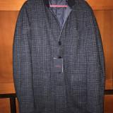 Palton bărbați Capobianco ( Cappotto reversibile Capobianco), Marime: 48, Culoare: Albastru