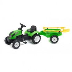 Tractor cu Remorca Garden Master si Unelte Green Cloned Falk