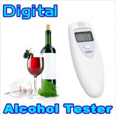 Mini Tester Alcool Etilotest Masurarea Alcoolemiei - AlcoolTest auto