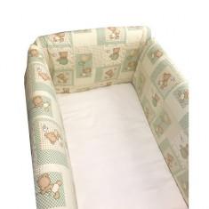 Aparatori laterale pentru pat Maxi 120 x 60 cm La Joaca Deseda - Lenjerie pat copii