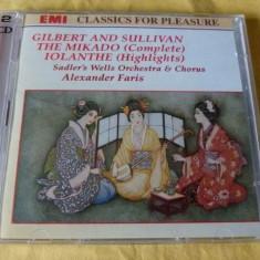 The Mikado - Muzica Opera emi records, CD
