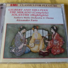 The Mikado - Muzica Opera emi records, CD