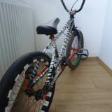 Bmx MirraCo 2012 Vopsit Custom - Bicicleta BMX, 18 inch, Numar viteze: 1