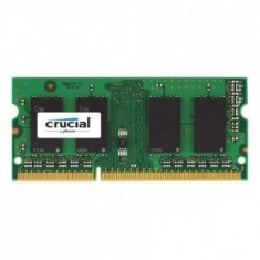 Memorie notebook Crucial 8GB, DDR3, 1600MHz, CL11, 1.35v CT102464BF160B - Memorie RAM laptop
