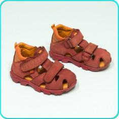 DE FIRMA → Sandale din piele, comode aerisite, calitate ELEFANTEN → fete | nr 22 - Sandale copii Elefanten, Culoare: Din imagine, Piele naturala