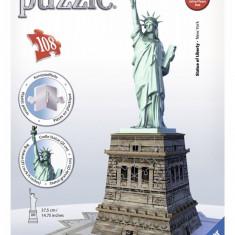 Puzzle 3D statuia libertatii, Ravensburger