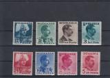 ROMANIA 1940  LP 140  CAROL II UZUALE  SERIE  MNH