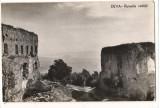 CPI (B8303) CARTE POSTALA - DEVA - RUINELE CETATII, RPR, Necirculata, Fotografie