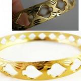 BRATARA 9k Gold Filled Women s Bangle  (filata in aur 9k)