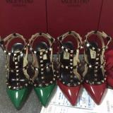 Pantofi VALENTINO GARAVANI ROCKSTUD - PIELE NATURALA