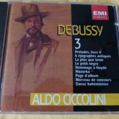 Debussy - Ciccolini - Muzica Clasica emi records, CD
