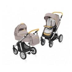 Carucior 2 in 1 Dotty Denim Beige Baby Design - Carucior copii 2 in 1
