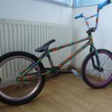 Bmx Eastern din 2013, vopsit custom. - Bicicleta BMX Eastern, 19 inch, Numar viteze: 1