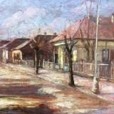 Nicu Enea - ulei pe pinza, pictura veche - Pictor roman, Peisaje, Altul