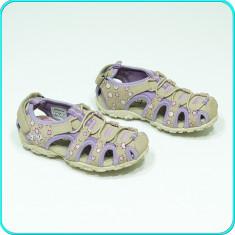 DE FIRMA → Sandale comode, aerisite, piele, de calitate, GEOX → fete | nr. 27 - Sandale copii Geox, Culoare: Din imagine, Piele naturala
