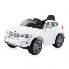 Masinuta electrica BMW X6 White Chipolino - Masinuta electrica copii