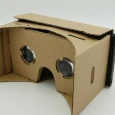 Ochelari Carton Google 3D Cardboard Realitate Virtuala VR - Fara Magneti