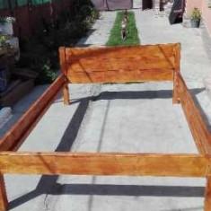 Pat de lemn 140/200 - Pat dormitor
