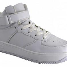 Pantofi Sport Barbatesti Albi gheata - Adidasi barbati, Marime: 40, 42, 43