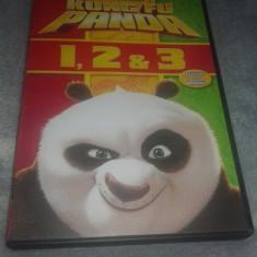 Colectia Kung Fu Panda 1, 2, 3 - Dublate in limba romana