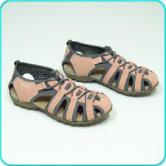 DE FIRMA → Sandale / pantofi vara, piele, aerisiti, comozi, GEOX → femei | nr 37, Nude, Piele naturala