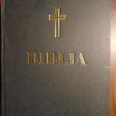 Biblia, tiparita cu binecuvantarea Prea Fericitului Parinte Teoctist (2001)