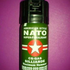 Spray autoaparare NATO - Spray paralizant