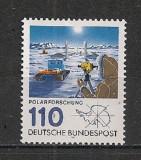 GERMANIA 1981 – EXPEDITIE POLARA IN ANTARCTICA, timbru nestampilat, AC13