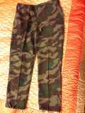 PANTALONI DE UNIFORMA MILITARA CAMUFLAJ SPLINTER WEHRMACHT,MODEL US BDU,AIRSOFT