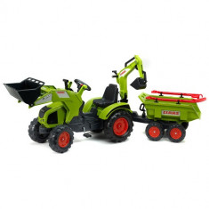 Tractor Claas Axos cu Cupa, Remorca si Accesorii Falk