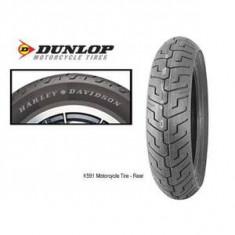 Cauciuc Moto NOU Dunlop K 591 Elite SP H/D Harley 130/90 B16 TL 67V - Anvelope moto