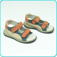 DE CALITATE → Sandale din piele, comode, aerisite, IMPIDIMPI → baieti | nr. 26 - Sandale copii, Culoare: Din imagine, Piele naturala