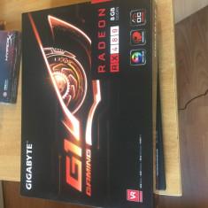 Placa video GIGABYTE Radeon RX 480 G1 Gaming 8GB DDR5 256-bit, sigilata - Placa video PC Gigabyte, PCI Express, Ati