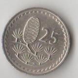 Moneda 25 mils 1980 - Cipru, Europa