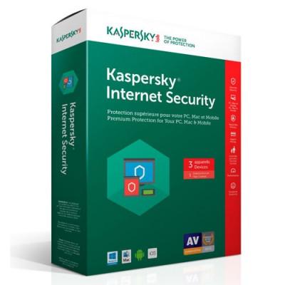 KASPERSKY INTERNET SECURITY 2019 multi device 3 Calculatoare 1 An foto