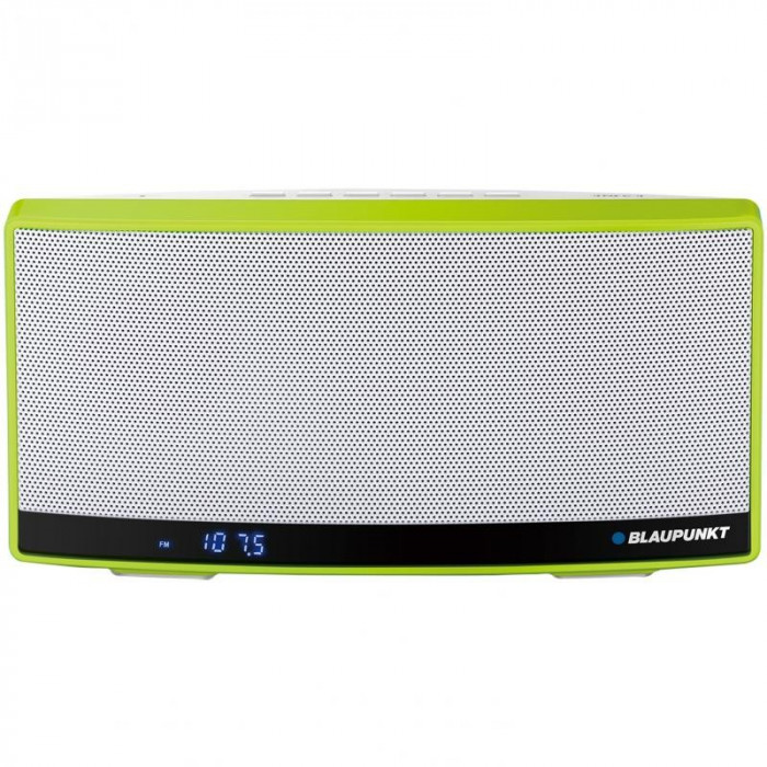 Boxa Portabila Bluetooth Blaupunkt BT10GR NFC FM Mp3 Power bank Green foto mare