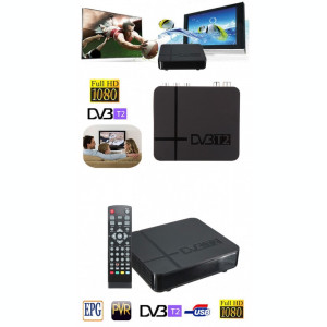 HD TV DVB-T2 Receiver = Firma, garantie =