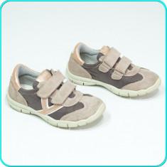 DE CALITATE → Pantofi sport, piele, aerisiti+impermeabili, BAMA → fete | nr. 30 - Adidasi copii, Culoare: Din imagine, Piele intoarsa