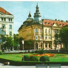 CPI (B8386) CARTE POSTALA - CLUJ-NAPOCA, HOTEL CONTINENTAL - Carte Postala Crisana dupa 1918, Circulata, Fotografie
