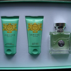 Set parfum Versense Versace, 50ml x 3